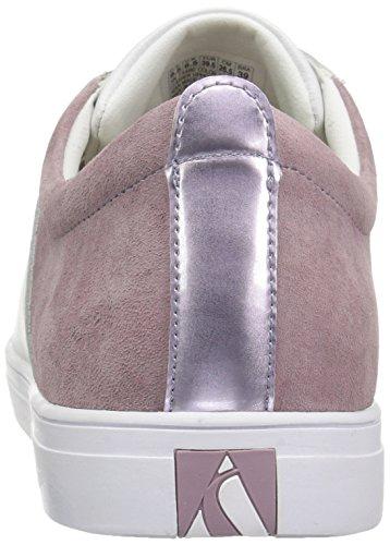 Skeche Street Frauen Moda-Clean Street Fashion Sneaker Weiß / Lavendel