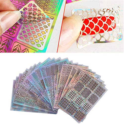Template Stickers Reusable Stamping Stencil product image