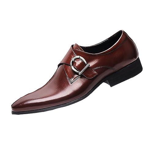 Para Zapatos De Hombres Con Inglaterra Cuero Ycgcm Punta mPy0wNv8nO