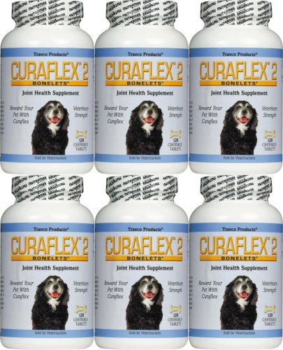Nutramax Curaflex Bonelets Chewable Tablets for Dogs 720ct (6 x 120ct) by ValuePetSupplies