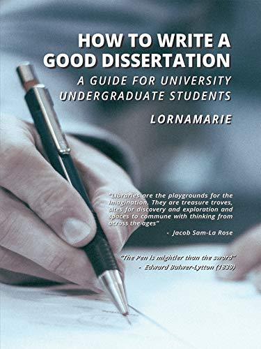 a good dissertation