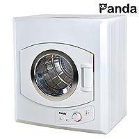 Secadora compacta Panda 2.65 pies cúbicos, blanca