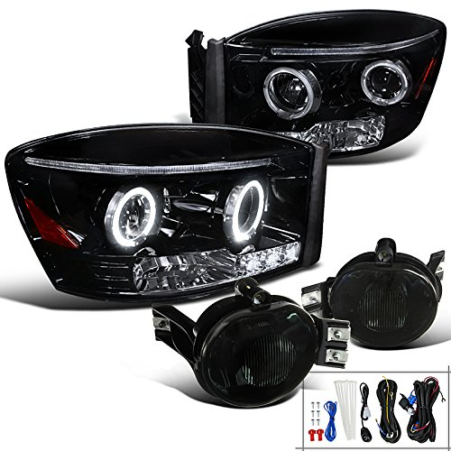 06 ram halo headlights - 8
