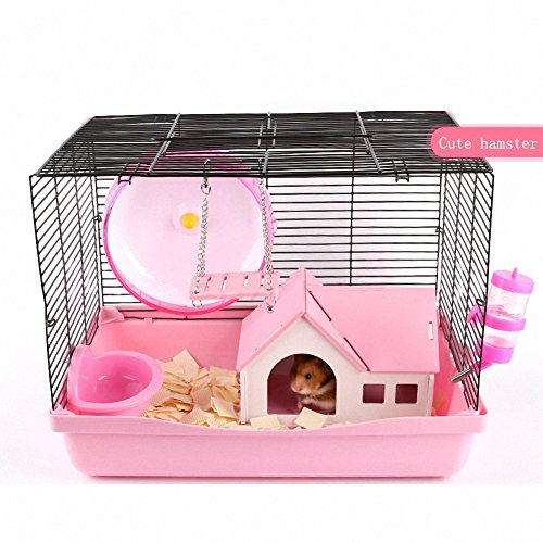 OMEM Hamster House Small Animal Hideout, Pet Mini Hut,Hamster Cabin,Hamster Cages,Portable Hamster Room, Pet Wooden Toys,Pet Hamster Toys by OMEM (Image #6)