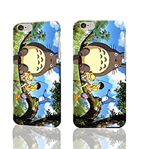 """Funny Totoro and FriendsTotoro and Friends 3D Rough iphone Plus 6 -5.5 inches Case Skin, fashion design image custom iPhone 6 Plus - 5.5 inches , durable iphone 6 hard 3D case cover for iphone 6 (5.5""""), Case New Design By Codystore hjbrhga1544"""
