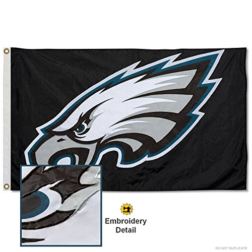 WinCraft Philadelphia Eagles Embroidered Nylon Flag
