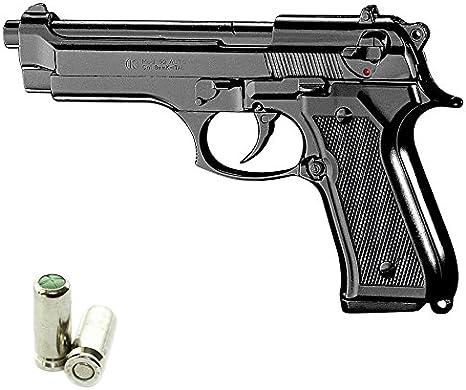 Scacciacani Pistola a Salve KIMAR Beretta 92 Cal.8 | Top Firing | Nera