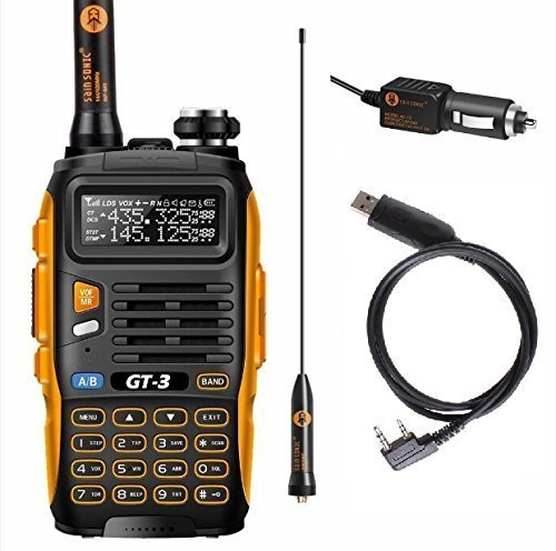 Baofeng PoFung GT-3 Mark-II Transceiver, FM Radio, Dual Band 136-174/400-520 MHz, Chipsets Upgraded, ABS Frame + Programming (Fm Transceiver)