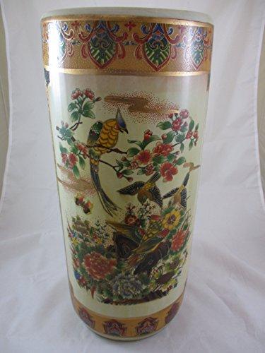 (Ceramic Oriental Umbrella Stand