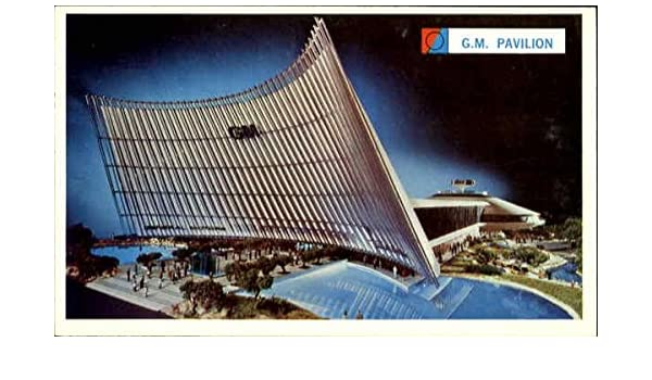 Amazon.com: The General Motor Futurama Building 1964 NY Worlds Fair Original Vintage Postcard: Entertainment Collectibles