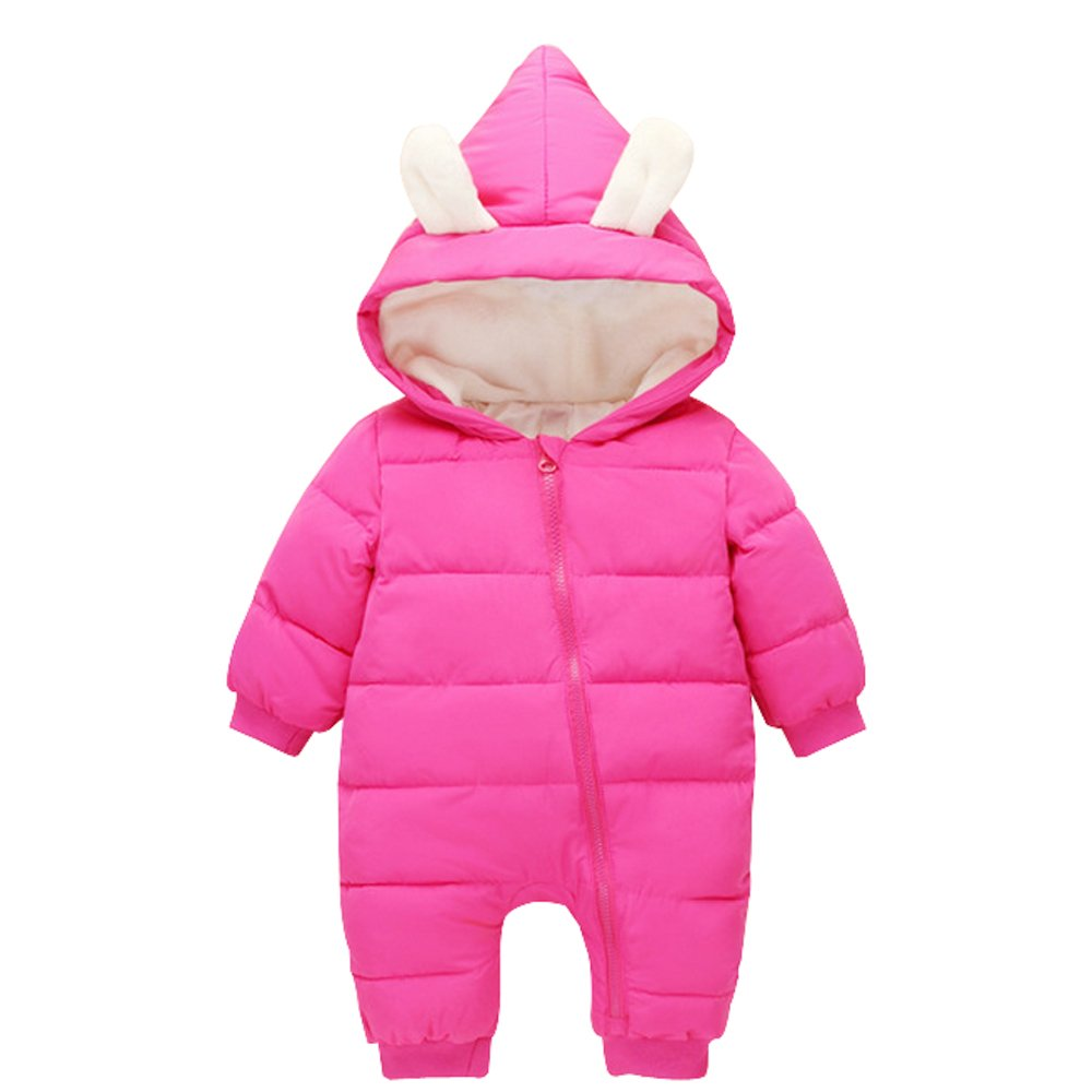 Ding Dong Baby Boy Girl Winter Hooded Puffer Jacket Snowsuit