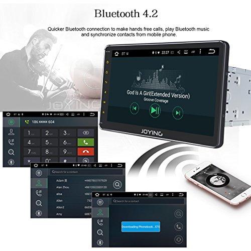 JOYING 10 1 Car Radio Android 8 0 PX5 Octa Core 4GB + 32GB GPS
