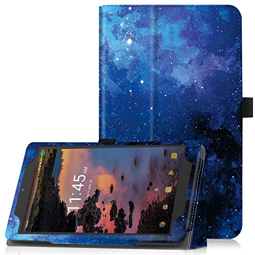 Famavala Case Cover Compatible with 8 T-Mobile Alcatel 3T 2018 / A30 2017 Tablet(BlueSky)