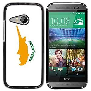 - Flag - - Monedero pared Design Premium cuero del tir¨®n magn¨¦tico delgado del caso de la cubierta pata de ca FOR HTC One Mini 2 M8 Mini Funny House