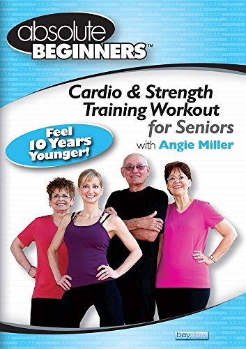 Workout for Seniors - Absolute Beginners - Cardio & Strength Training with Angie Miller