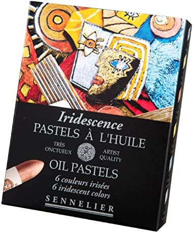 Sennelier Artists Oil Pastels - Set of 6 x Iridescent