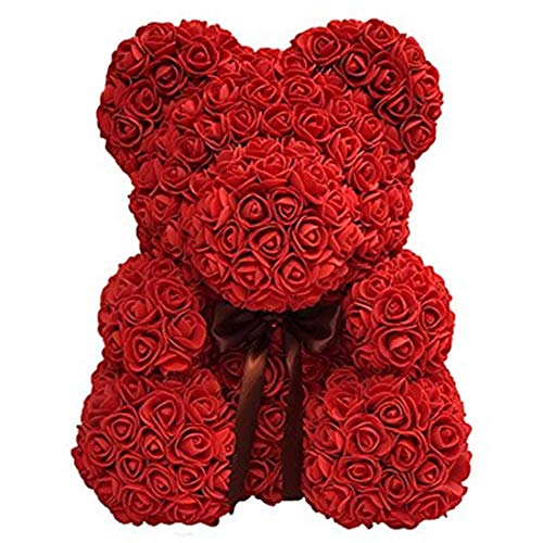 (Free Ship Deal Deals Rose Teddy Bear Cute Love Bear (Red))