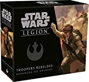 Wave 0 - Troopers Rebeldes - Expansão De Unidade, Star Wars Legion Galápagos Jogos Multicor