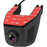 WIFI Dash Camera, ZOTO 1080P Full HD Car Recorder Camera, Car DVR Cam with Adjustable Lens 170 Degree Wide-angle, Car Driving Recorder with G-Sensor,Night Vision, Loop Recording, HDR, Parking Monitor