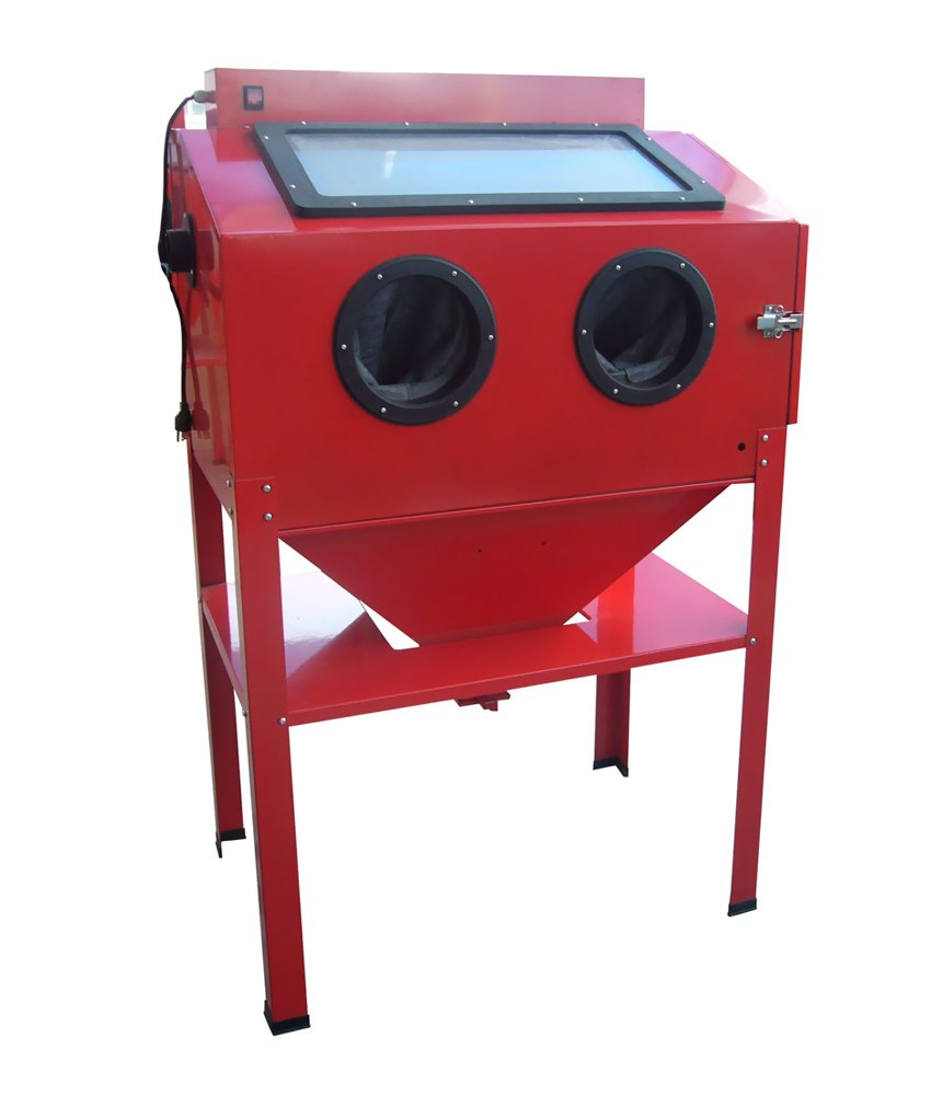 Black Bull Garage Automotive Workshop Vertical Blast Cabinet
