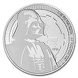 #5: 2017 Niue 1 oz Silver $2 Star Wars Darth Vader BU 1 OZ Brilliant Uncirculated