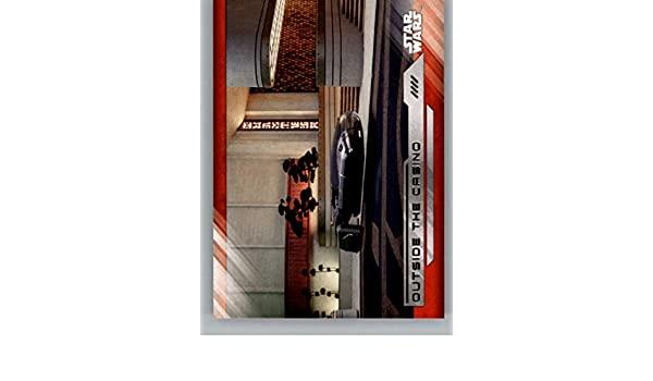 2017 Topps Star Wars The Last Jedi #90 Outside the Casino at Amazons Entertainment Collectibles Store