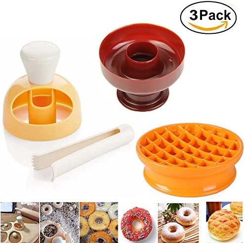 Bread Cake Stencil Donut Mold 1 PC Bakery High Quality Doughnut Maker Mould 6T