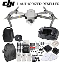 DJI Mavic Pro Platinum FLY MORE COMBO Collapsible Quadcopter Drone Backpack Bundle