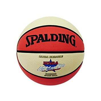 Spalding WNBA Outdoor All Star - Balón de baloncesto (talla 6 ...