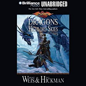 Dragons of the Highlord Skies Audiobook