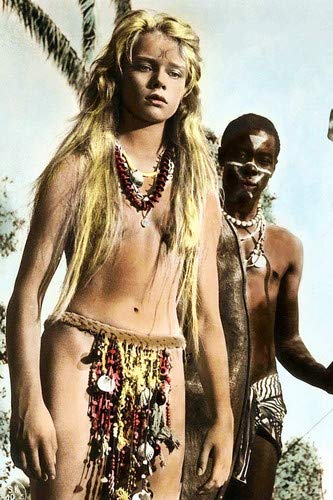 Marion Michael Liane Jungle Goddess sexy costume Blonde German star 11x17 Mini Poster