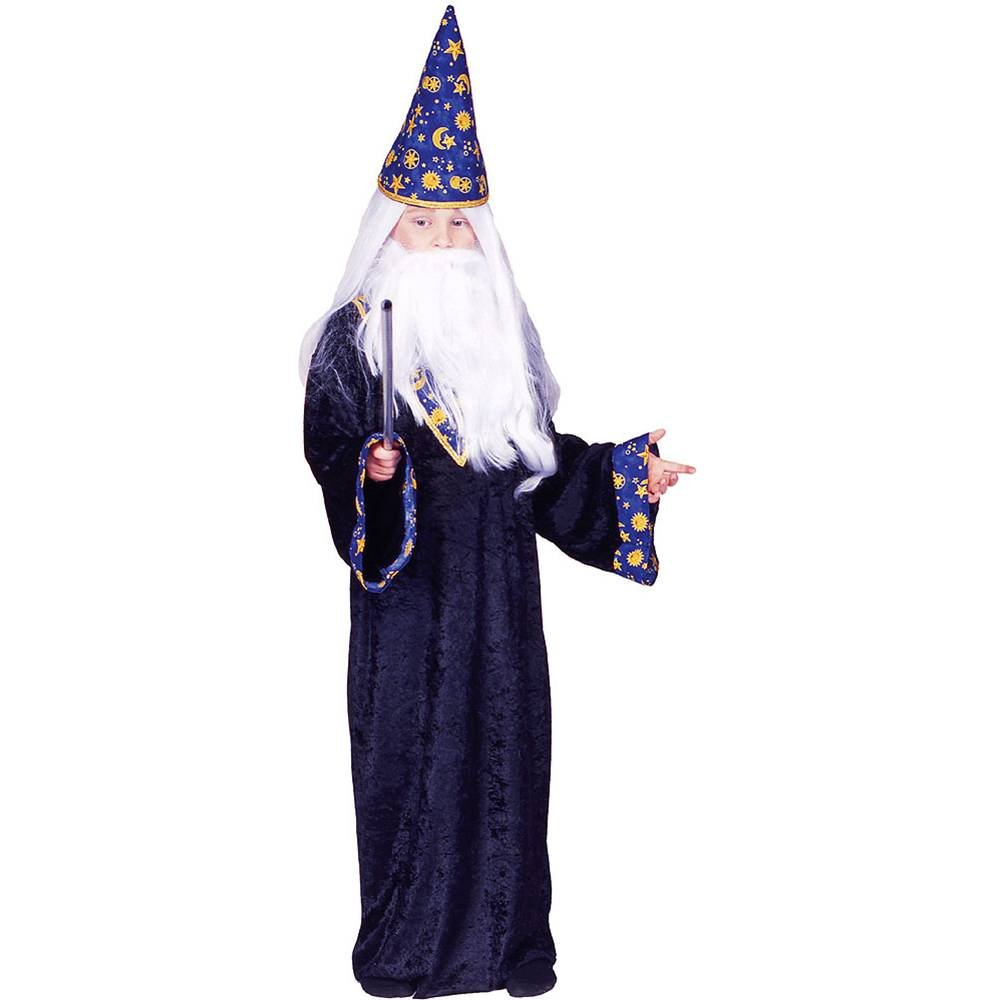 Amazon.com: RG Costumes Black Mage Costume, Blue/Yellow, Large ...