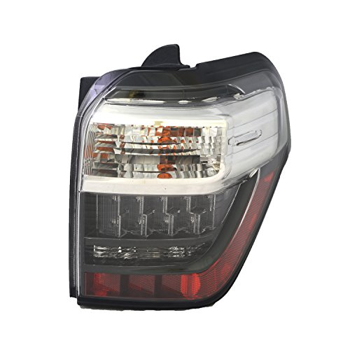 TYC 11-6657-00-1 Toyota 4Runner Right Replacement Tail Lamp