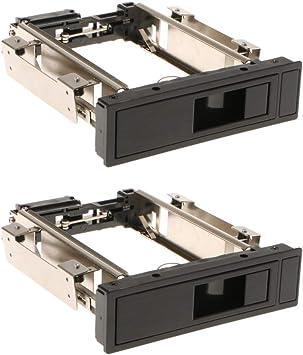 2個 3.5インチSATA HDD ハードディスク モバイルラック トレイ不要 ホットスワップ対応