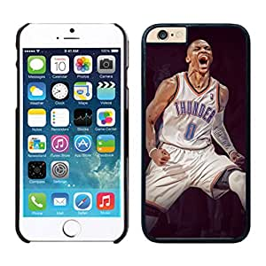 New Custom Design Cover Case For iphone 6 plus Russell Westbrook iphone 6 plus 5.5 TPU inch Phone Case 211