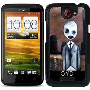Funda para HTC one x - Gente Espeluznante by hera56