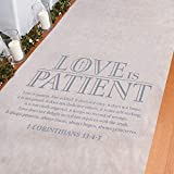 Love is Patient Aisle Runner 3 ft. x 100 ft.