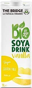 THE BRIDGE Bio Organic Soya Vanilla Drink, 1 Litre