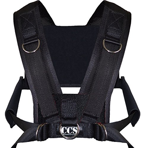 CCS Youth Sled Harness- Made in USA - Limited Time Pricing!! Fast Shipping!! 2-3 Days!! (black)