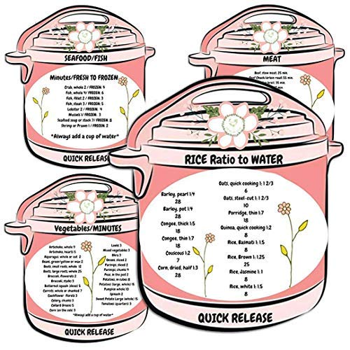 Pressure Cooking Magnets Cheater Times by Debbiedoo's Home Pressure Cooking (Image #3)