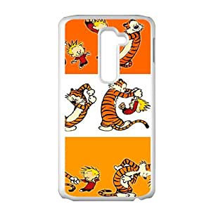 YYYT Calvin and tigger Cell Phone Case for LG G2