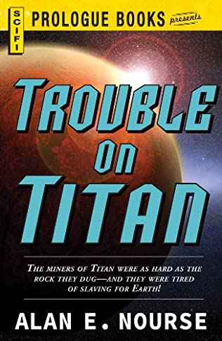 book cover of Trouble on Titan