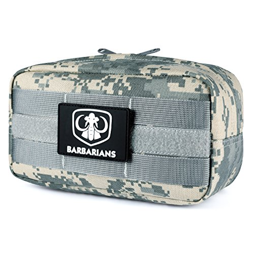 Barbarians Tactical MOLLE Utility Pouch for EMT Medical First Aid (ACU Camo)