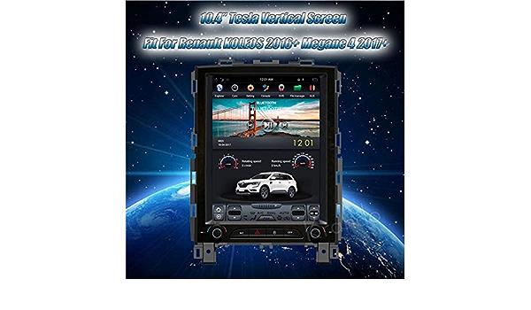Radio Krando Android 6 10 4 Pantalla Vertical Tesla Para Renault Koleos 2016 Megane 4 2017 Gps Amazon Es Electrónica