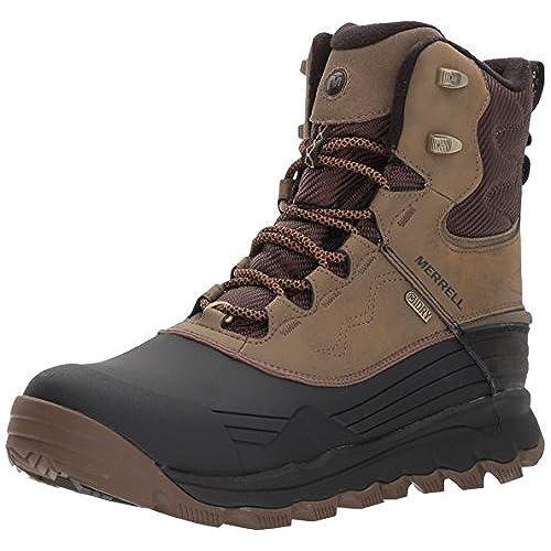 MERRELL Men's Thermo Vortex 8 Inch Waterproof Boots, Black