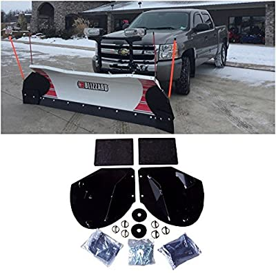 The ROP Shop New Heavy Duty Snow PLOW PRO-Wing Blade Extensions for Western Snowplow Blade