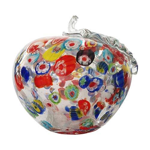 Kinetic Glass Beautiful Art Glass Apple Paperweights 89321