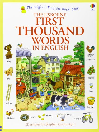 First Thousand Words in English (Usborne First Thousand Words)