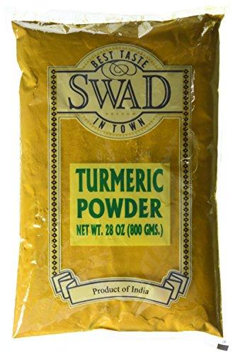 Swad Indian Spice Turmeric Haldi Powder (28 oz) by Swad