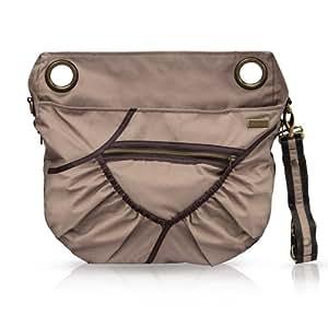 Baby Cargo Georgi Diaper Bag, Ash Violet (Discontinued by Manufacturer)